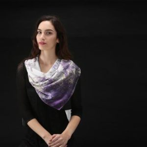 Store|Purple Crush Square Scarf for Vida © Teresa Neal