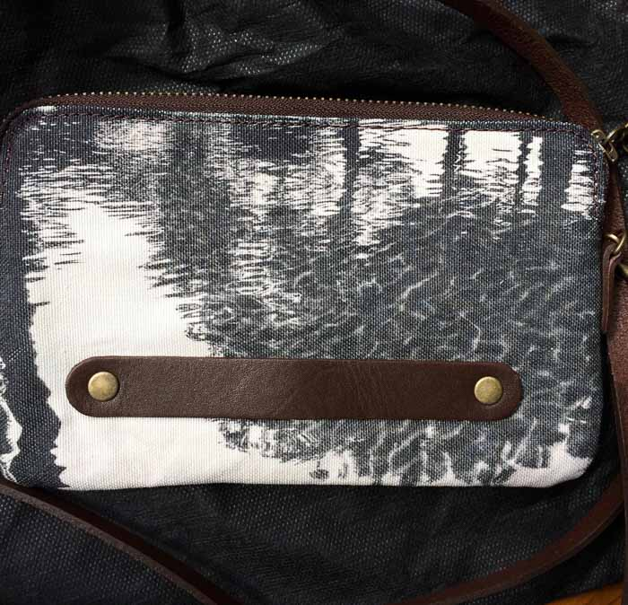 Charcoal clutch bag © Teresa Neal