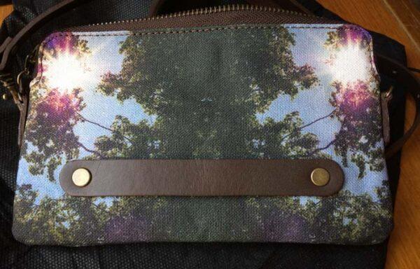 Designer Purple Sun Cloud Bag ©Teresa Neal