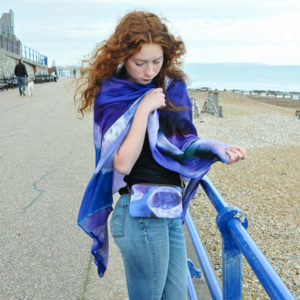 Poison Fox scarf and bag ©Teresa Neal photography