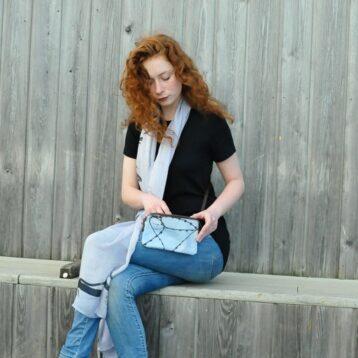 Femme scarf & bag © design & photography Teresa Neal