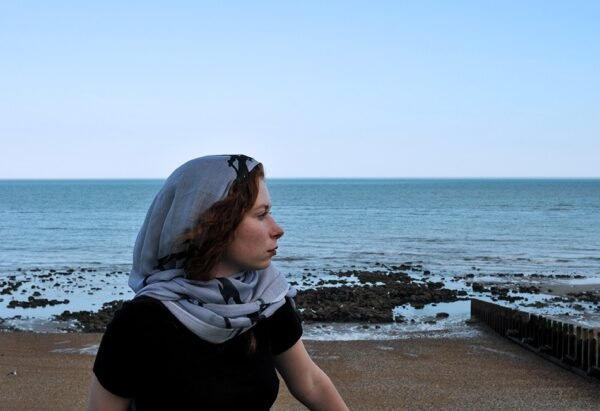 Femme modal scarf design/image/photography ©Teresa Neal
