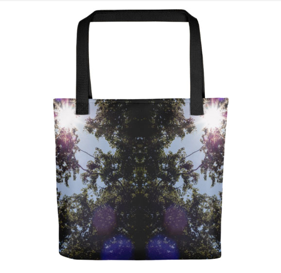 Tree Sunlight Tote Bag