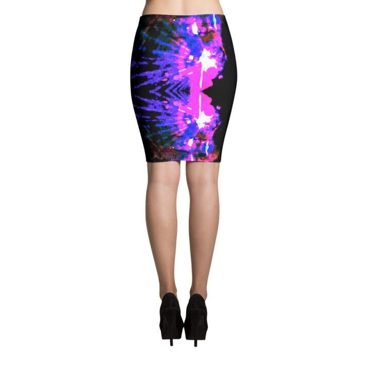 Body Con Printed Skirt - Teresa Neal