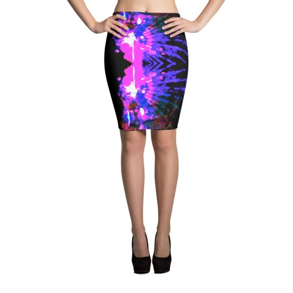 Body Con Printed Skirt by Teresa Neal