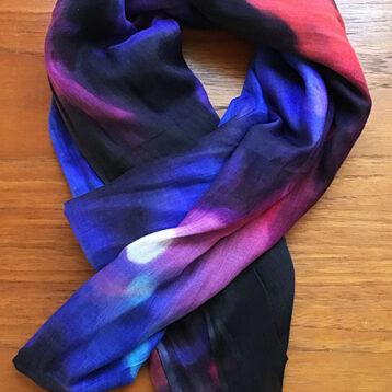 Artist print modal scarves