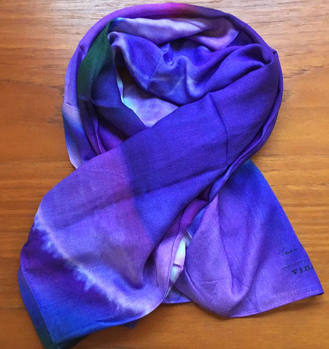 Artist modal scarves