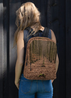 Lost Line Forest Backpack|Teresa Neal