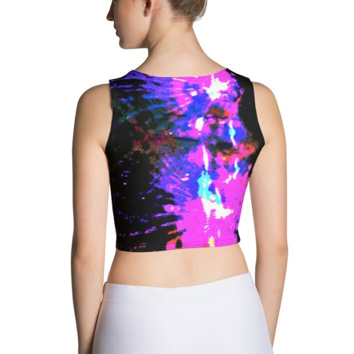 Crazy Purple Crop Top