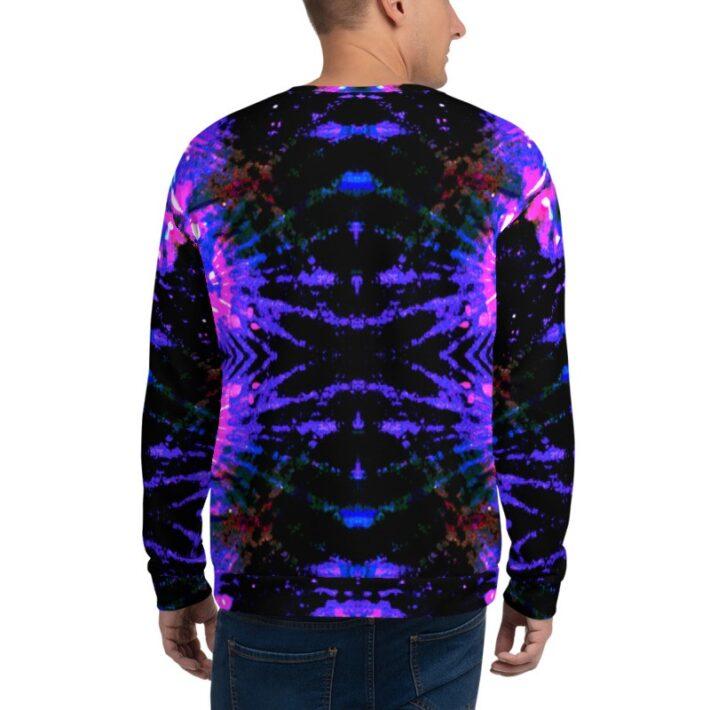 Crazy Purple Unisex Sweatshirt