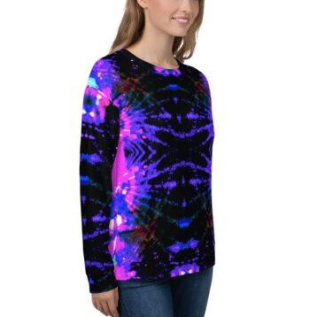 Unisex printed sweatshirt