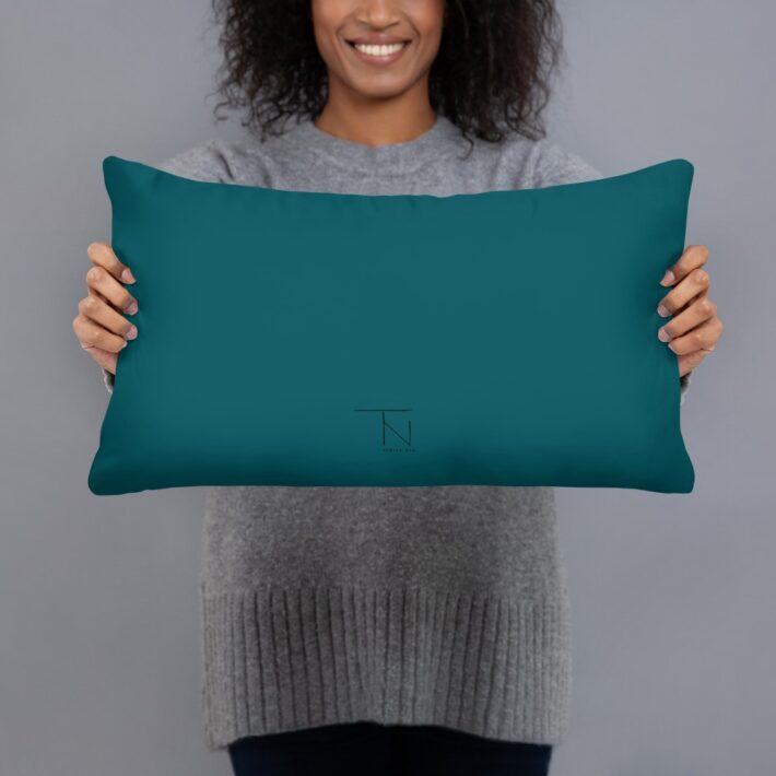 Green Spider Throw Cushion